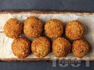 Фалафели - пържени вегетариански кюфтенца от нахут
